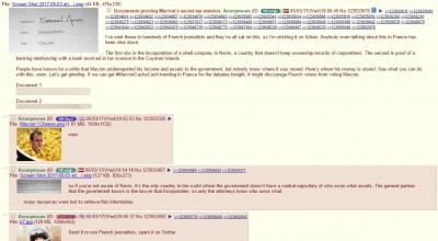 Piratage de données pour Emmanuel Macron macronleaks