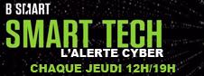 L'alerte cyber dans l'émission Smart Tech sur B Smart Tv