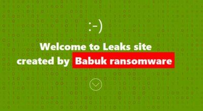 babuk blog ransomware
