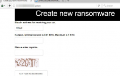 Create new ransomware