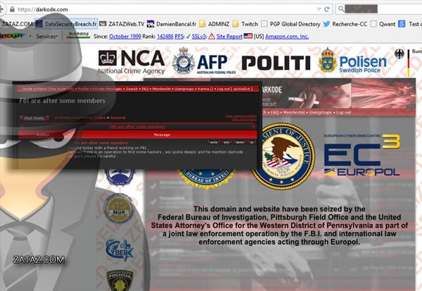 Dans les outils proposés par les pirates, des ransomwares, comme Locker, qui se faisait passer pour le FBI.