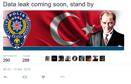 Data leak turk