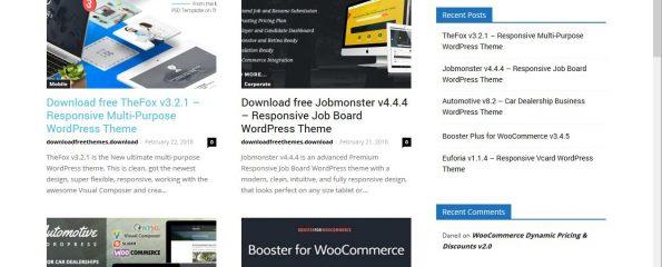 Thèmes WordPress piégés