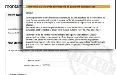 Fraude EDF