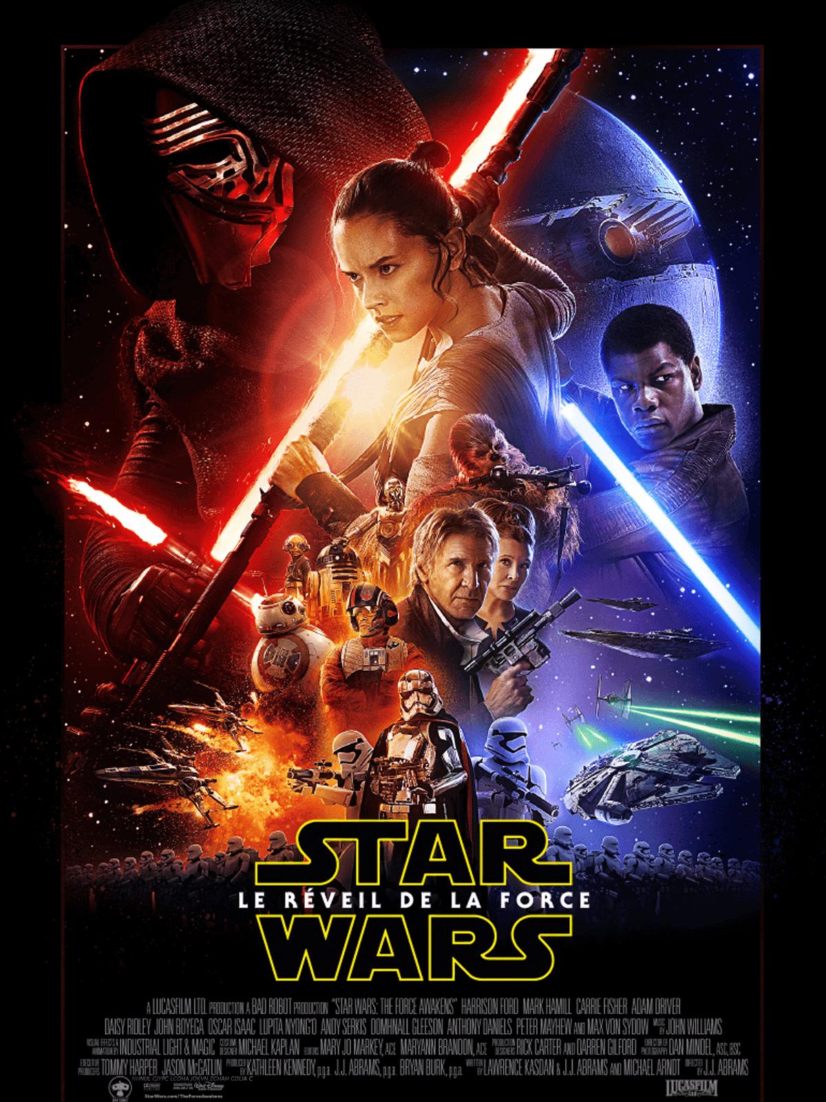 StarWars VII : le reveil de la force