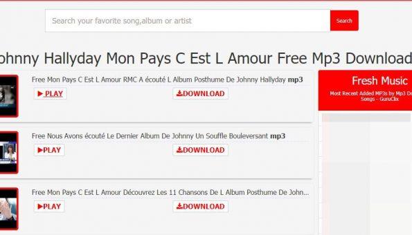 MON PAYS C'EST L'AMOUR