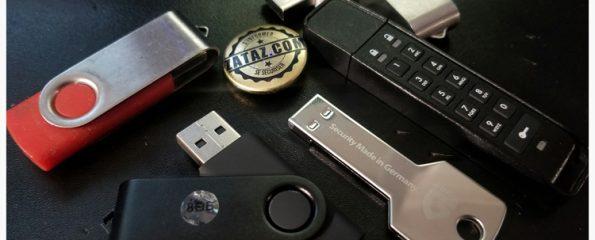 Clé USB perdue