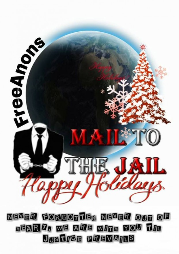 Mail to the Jail Happy Holiday