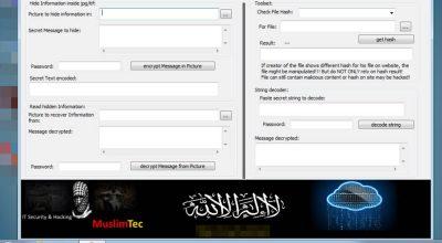 MuslimCrypt Terrorisme et stéganographie