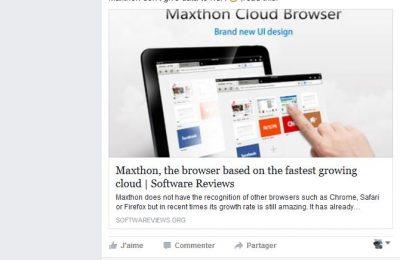 navigateur Maxhton