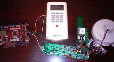 Piratage facile d'un code d'accés d'une alarme de maison.