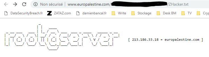 Palestine zhacker
