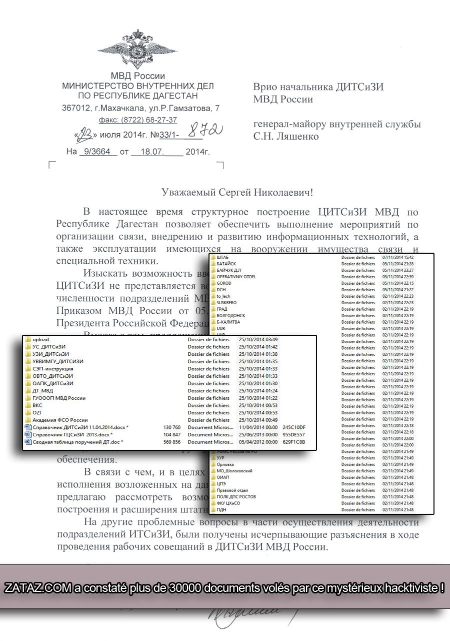 Plus de 30.000 documents, courriels, lettres diffusés par l'hacktiviste.