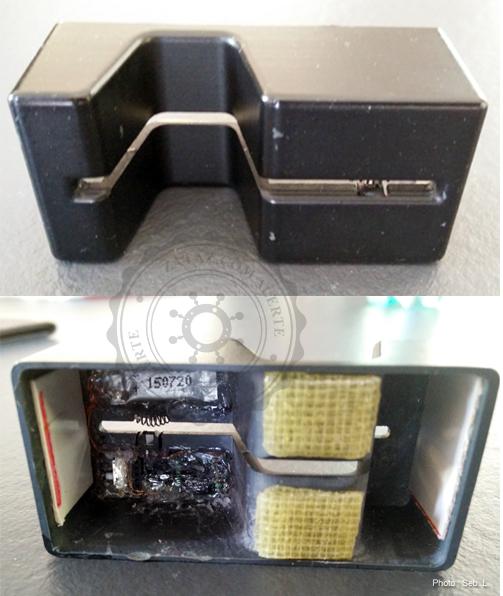 Le boitier ne fait pas partie des derniers modèles de skimmeurs, mais reste efficace.