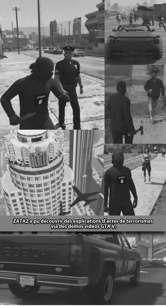 Terrorisme Daech GTA V