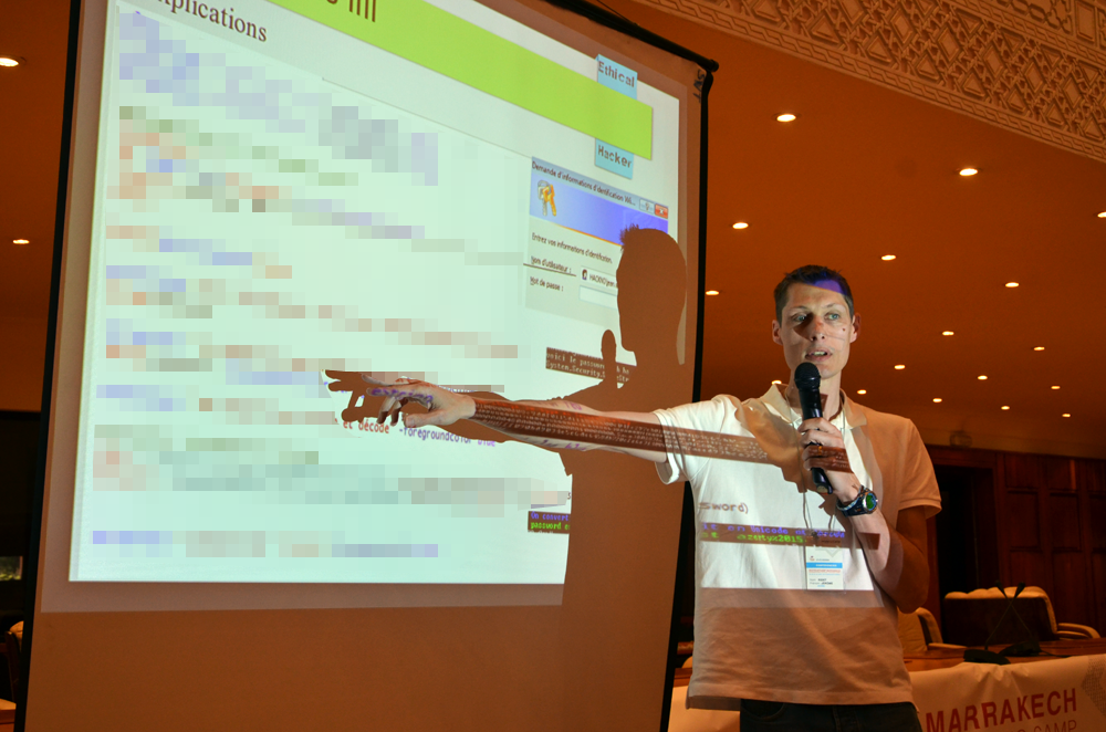 Jérôme Ridet a démontré la faiblesse de la sécurité proposée par PowerShell.