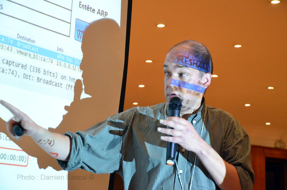 Laurent Schalkwijk, instructeur CISCO CCNA.