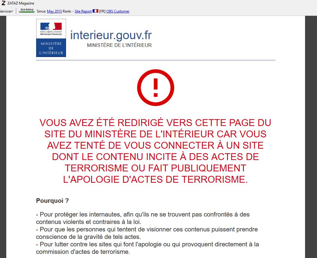 Web-interdit-avertissement