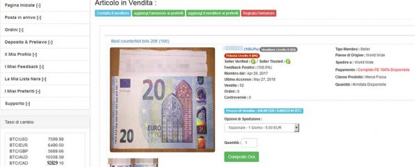 faux billets Napoli Group