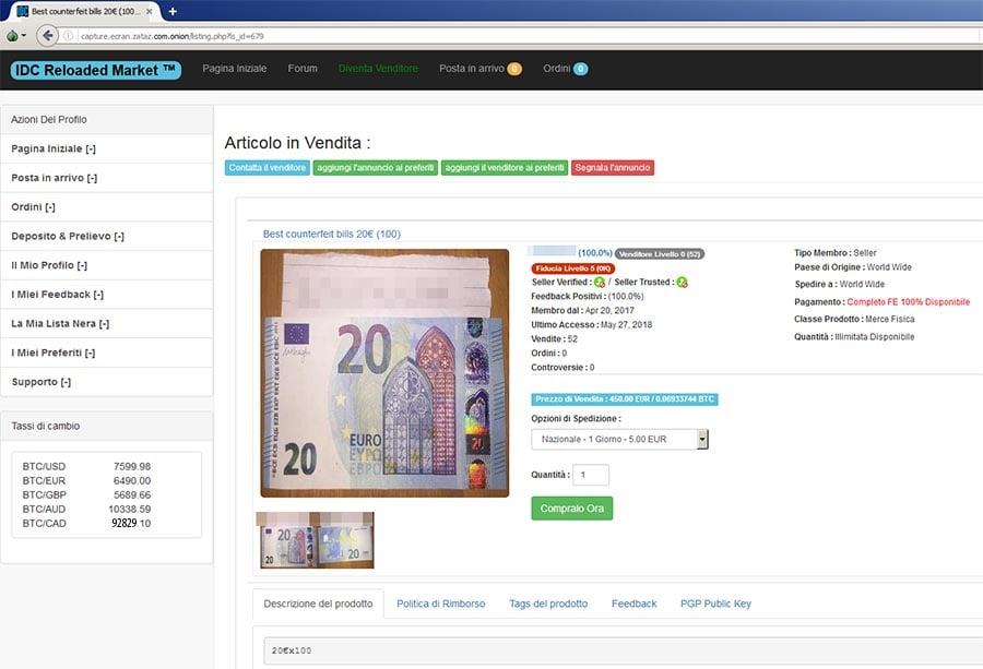 Zataz De La Rue Au Blackmarket 100 000 Faux Billets Saisis