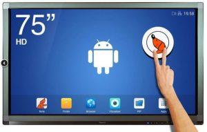 ecran interactif tactile Android