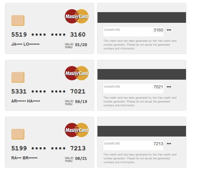 Gratuit Zataz Carte Bancaire Pas De Ou - Générateur