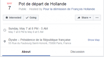 Facebook Hollande
