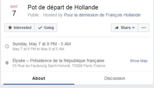 Facebook Hollande