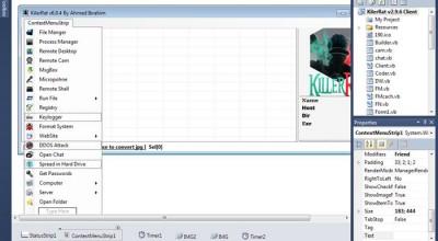 Un informaticien Égyptien lance un logiciel espion baptisé KillerRat. Il serait indétectable... ou presque !