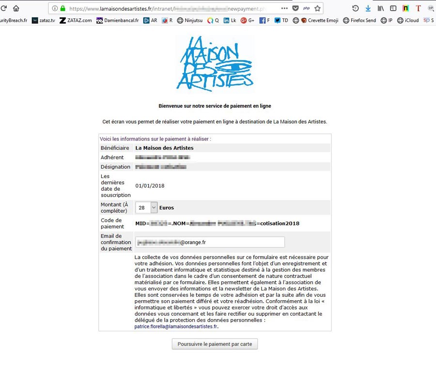 ZATAZ » Fuite de données corrigée à la Maison des Artistes