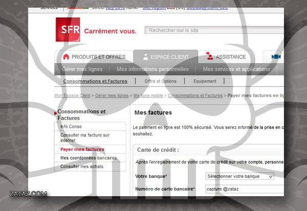 phishing sfr