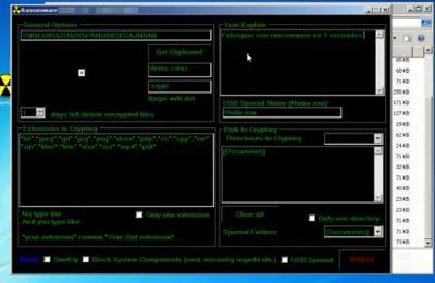 fabriquer son ransomware