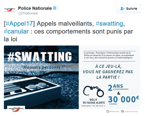 swating police nationale