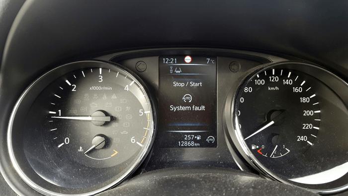 Une voiture que j'ai testé affichait ce genre d'alerte inquiétante.