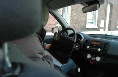 voleur piratage électronique des automobiles audi