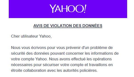 Yahoo en français
