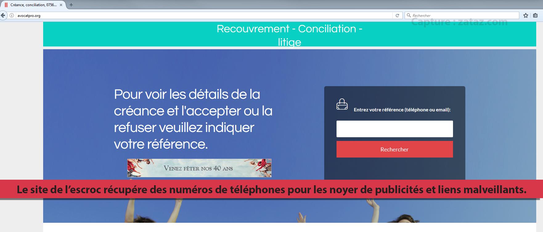 arnaque telephone 0890